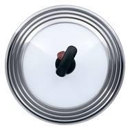 Крышка стеклянная Rondell MSUFVK 22-28 см