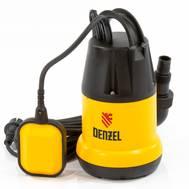 Насос погружной для чистой воды DENZEL 97221