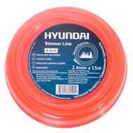 Леска для триммера Hyundai TL 15-2.4