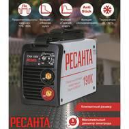 Аппарат сварочный инверторный РЕСАНТА САИ 190К