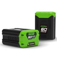 Батарея аккумуляторная Greenworks G60B2 60V, 2 А.ч